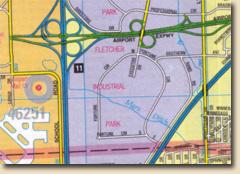 Modern Street Map