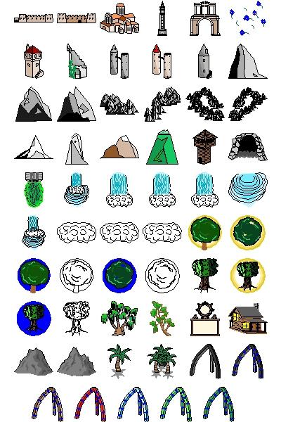 Animal Design Tattoo Weather Symbols For Kids