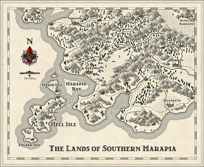 scarland map
