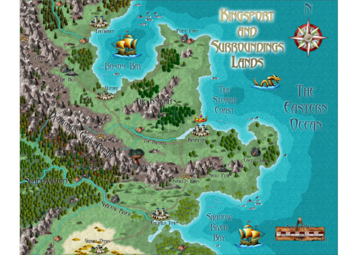 ProFantasy Software - Symbol Set 1: Fantasy Overland