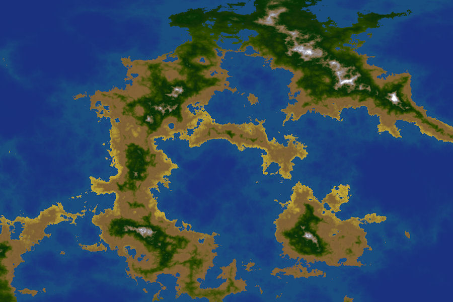 Fractal Terrains 3 World Generation Software