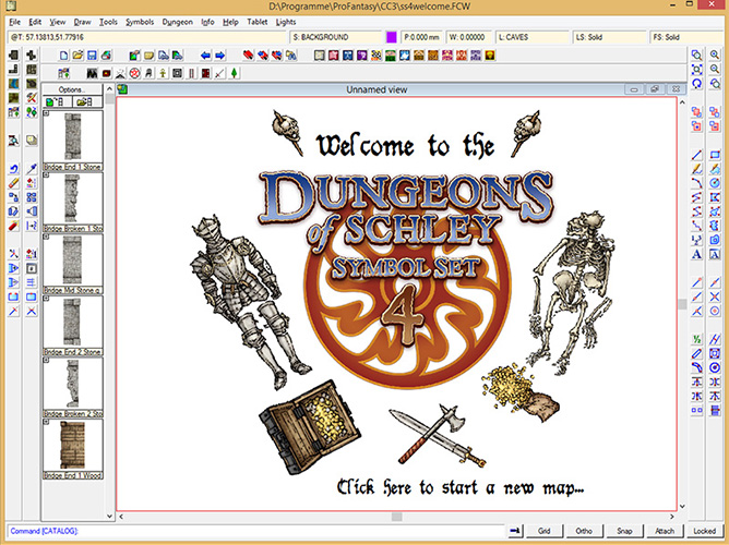 Symbol Set 4 Dungeons of Schley add-on for CC3